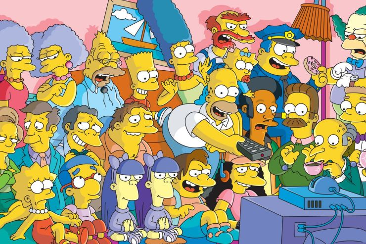 This image has an empty alt attribute; its file name is simpsons.jpg